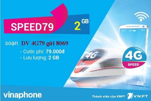 Đăng ký nhanh gói cước Speed79 Vinaphone nhận ưu đãi hấp dẫn