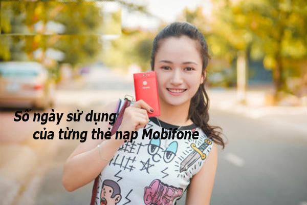 Bạn có biết số ngày sử dụng của từng thẻ nạp Mobifone?