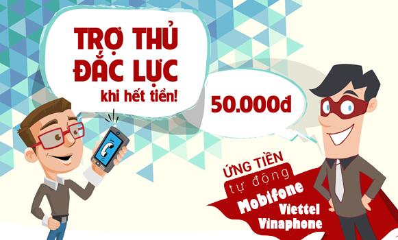 Bạn đã biết về dịch vụ Ứng tiền tự động Vinaphone