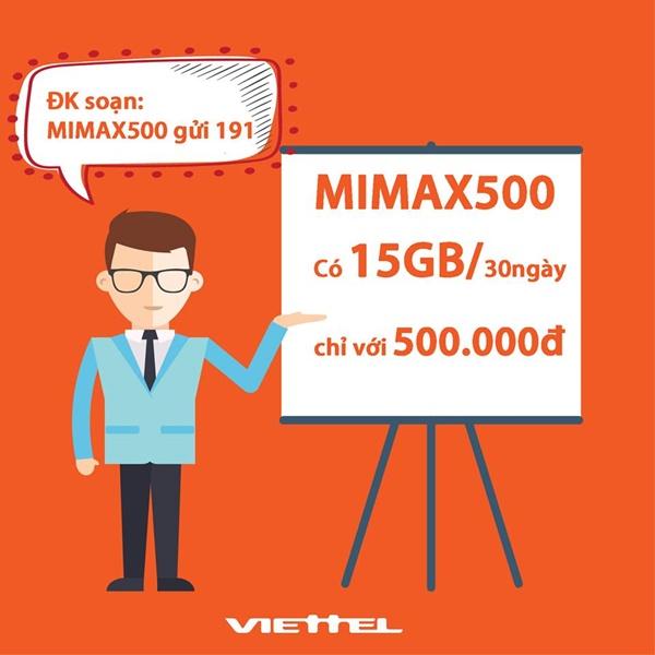 Tất tần tật về gói cước Mimax500 mà bạn nên biết