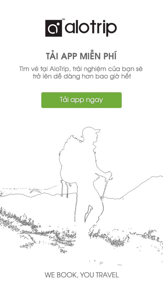 Nên sử dụng ứng dụng đặt vé máy bay cho iphone bằng Alotrip.vn