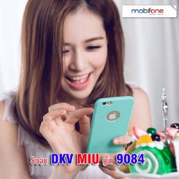 Hướng dẫn cách đăng ký gói 3G MIU Mobifone