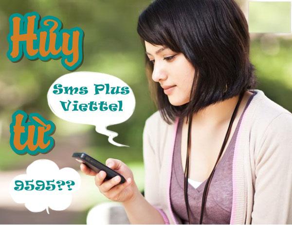 Hướng dẫn hủy dịch vụ tin nhắn tiện ích SMS Plus Viettel