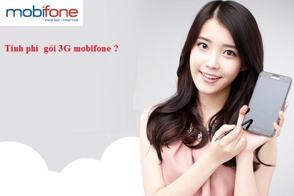 Cách tính giá cước phí các gói 3G mobifone
