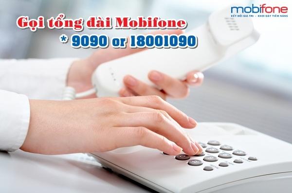 Cước phí gọi tổng đài được nhà mạng Mobifone tính như thế nào?