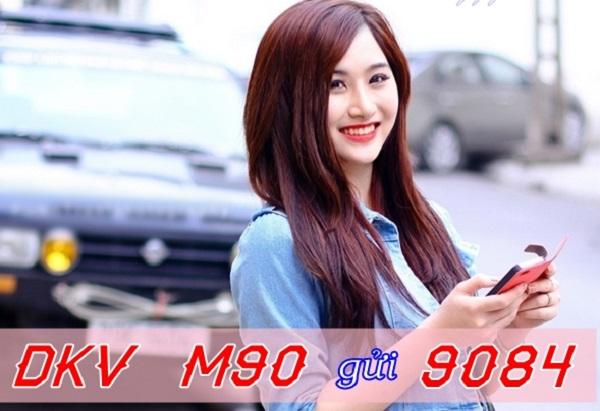Nhận ngay 2.1GB khi đăng ký gói cước M90 Mobifone