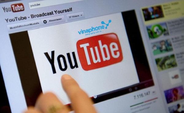 Lướt youtobe thả ga với gói Youtube Vinaphone giá từ 10.000đ