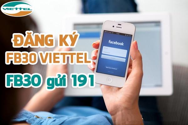 Cách đăng kí gói 3G facebook viettel nhận ưu đãi lớn nhất