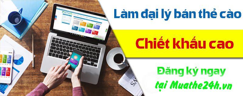 Hướng dẫn mua thẻ điện thoại chiết khấu cao nhất tại Muathe24h