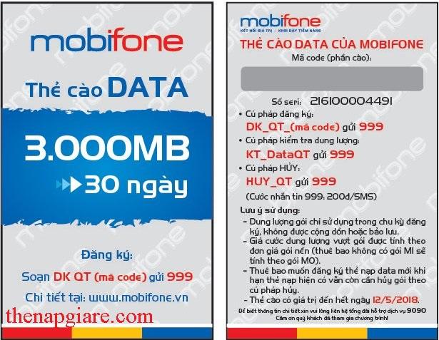 Lưu ý gì khi sử dụng thẻ data 3G Mobifone?