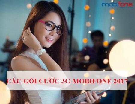 Tổng hợp những gói cước 3G mobifone cho thuê bao trả sau