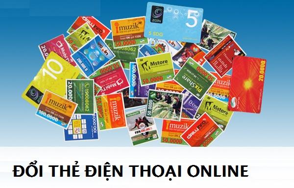 Đổi thẻ điện thoại online để giảm thiểu tình trạng dư thừa thẻ cào hiện nay