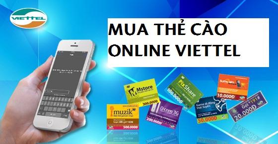 Hướng dẫn cách mua thẻ cào online Viettel đơn giản nhất