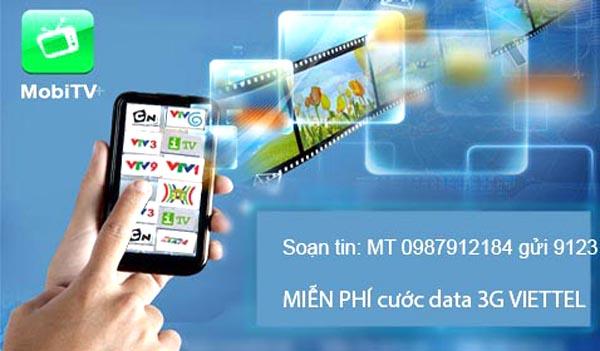 Xem TV trên di động mọi lúc mọi nơi cùng Mobile TV Viettel