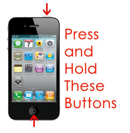 Hướng dẫn xử lý iPhone, iPad bật không lên màn hình