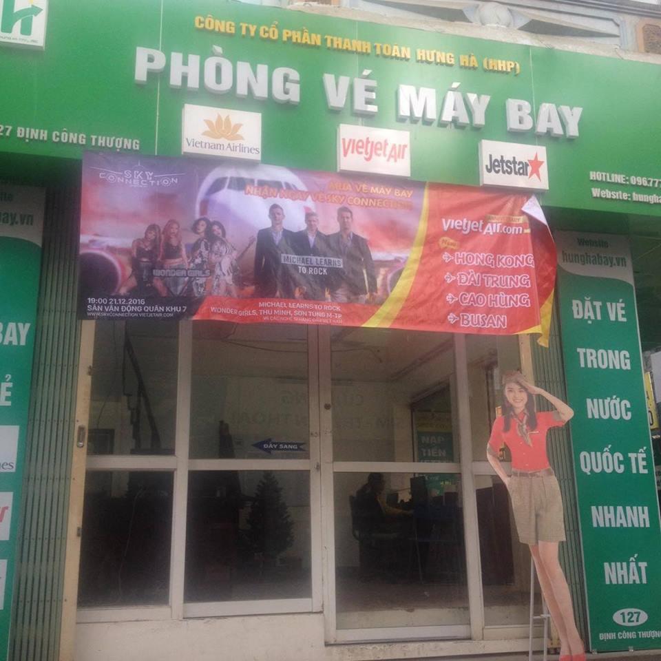 Đại lý vé máy bay cấp 1 tại Bắc Ninh uy tín nhất