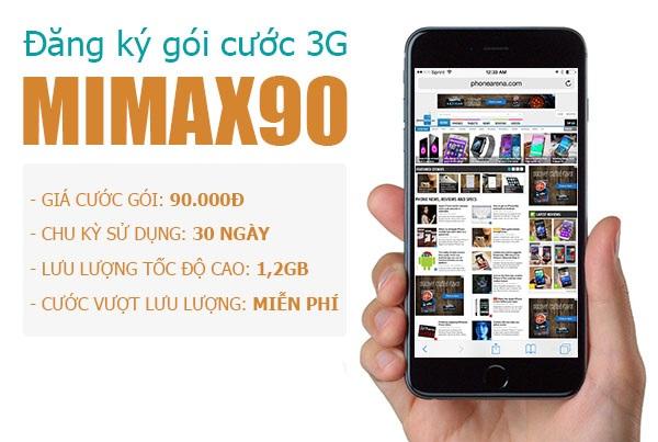 Hướng dẫn cách đăng kí 3G viettel  Mimax & Mimax90