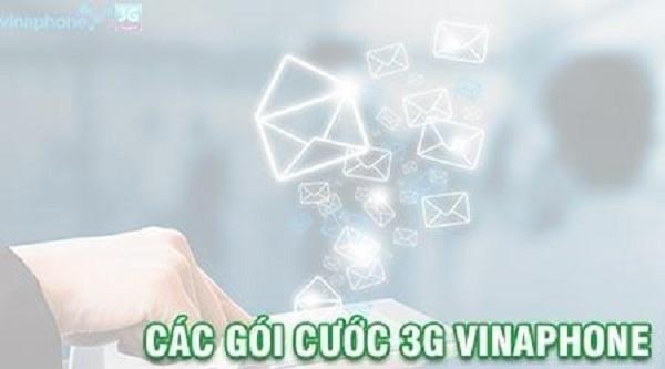 Các gói cước 3G Vinaphone ưu đãi giá khoảng 100.000đ