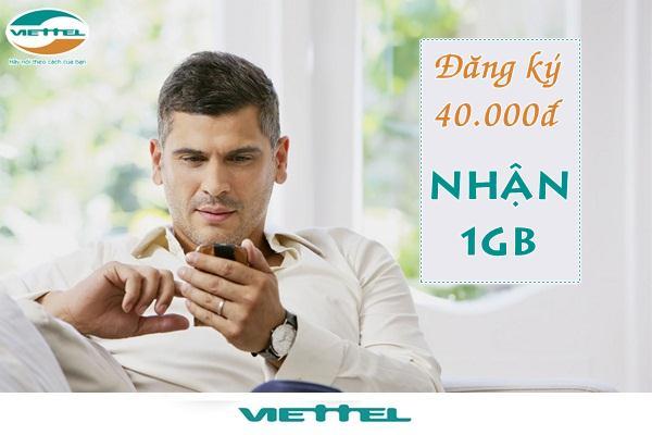 Cách đăng kí gói 4G40 Viettel ưu đãi tới 1GB chỉ 40,000 đồng