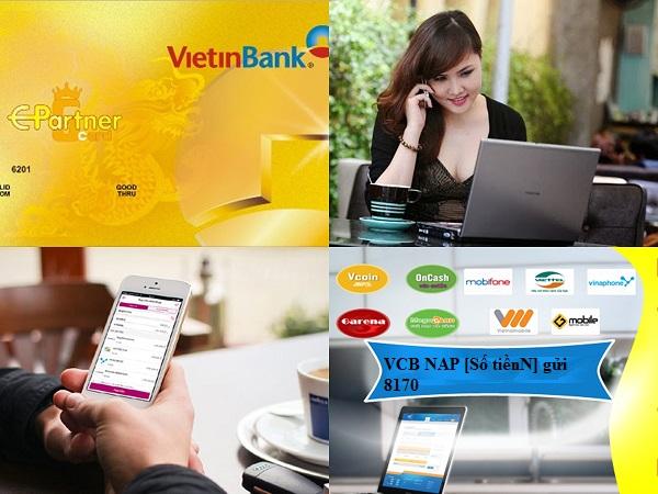 Hướng dẫn chi tiết cách nạp tiền Viettel qua thẻ ATM Vietinbank