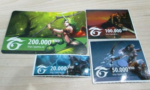 Những điều cần lưu ý khi mua thẻ Garena online tại Banthe24h.vn