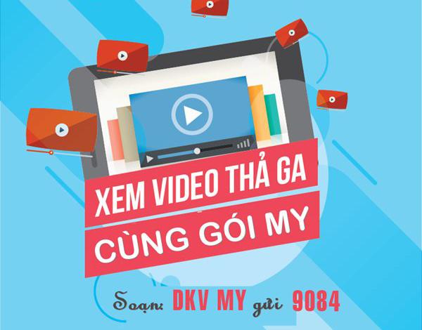 Xem Video trên Youtube cả tháng với gói Combo MY Mobifone trọn gói