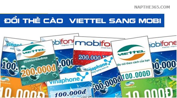 Cách nào đổi card Viettel sang Mobi nhanh nhất?