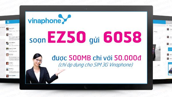 Làm sao để đăng ký gói cước Ez50 của Vinaphone nhanh nhất?