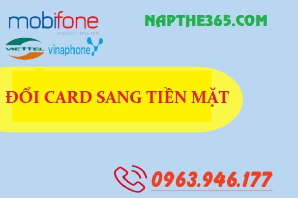Dịch vụ đổi card sang tiền mặt cực tiện ích