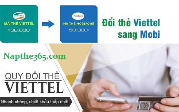 Đổi card Viettel sang Mobi siêu đơn giản