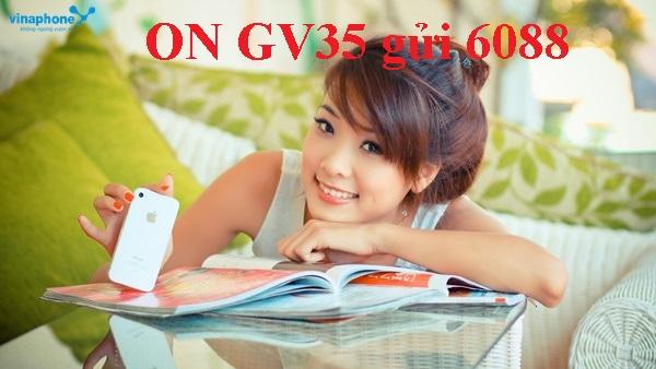 Đăng ký nhanh gói cước GV35 Vinaphone chỉ với 35k!