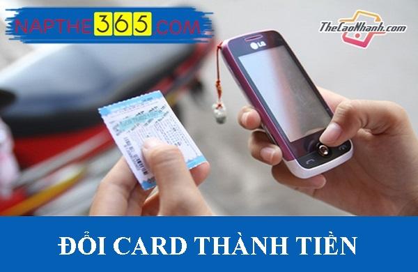Đổi card thành tiền chưa bao giờ dễ đến thế!