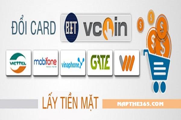 Website đổi card điện thoại ra tiền mặt chiết khấu ưu đãi nhất