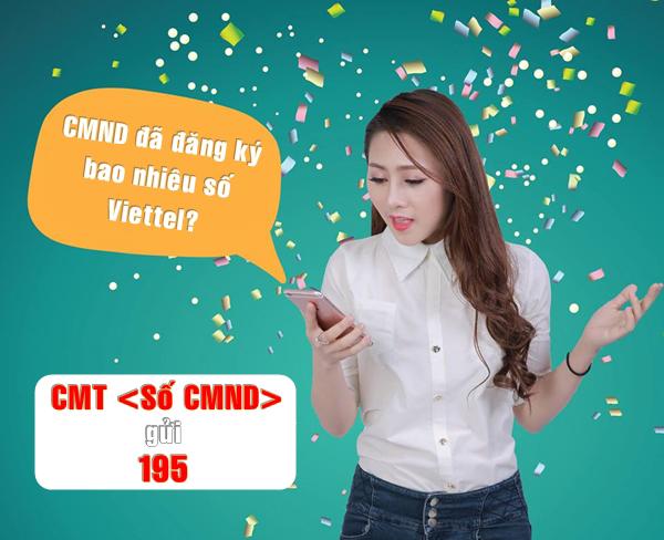 Mách bạn cách kiểm tra CMND đã đăng ký bao nhiêu số thuê bao Viettel