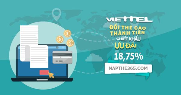 Hướng dẫn đổi card điện thoại Viettel thành tiền mặt chỉ trong chớp mắt