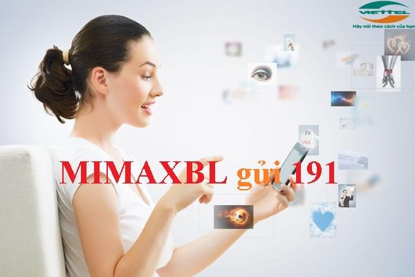 Đăng ký nhanh gói MimaxBL Viettel sở hữu 3Gb chỉ 25k!