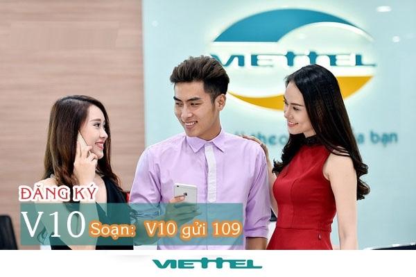 Hướng dẫn cách đăng kí gói V10 viettel nhận ưu đãi lớn nhất