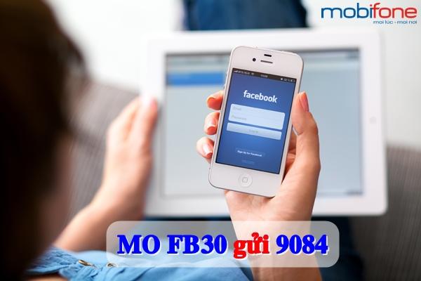 Lướt Facebook xả ga với gói cước FB30 Mobifone
