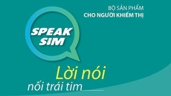 Bạn đã biết về gói cước Speak Sim dành cho người khiếm thị của Viettel ?