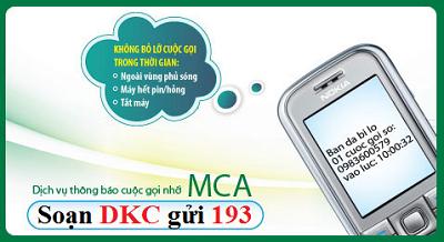 Hướng dẫn đăng ký dịch vụ cuộc gọi nhỡ MCA Viettel