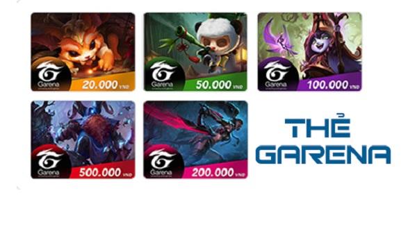 Cách mua thẻ cào Garena online bằng tài khoản ngân hàng