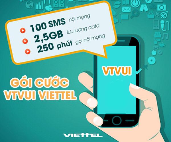 Đăng ký nhanh gói  VTVUI Viettel ưu đãi 3 trong 1 siêu hấp dẫn!