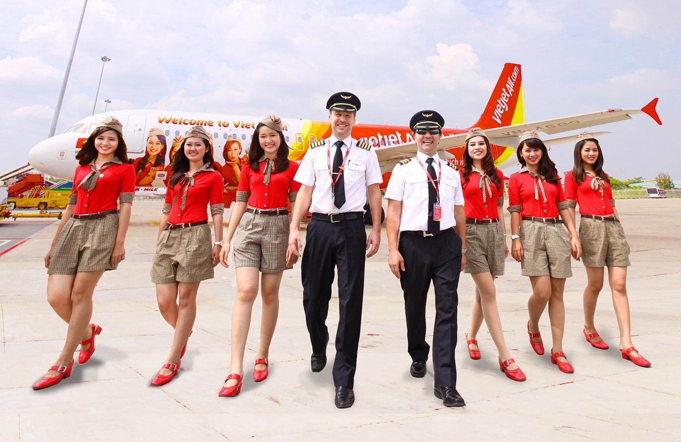 Đặt vé máy bay Vietjet Hà Nội đi Cần Thơ