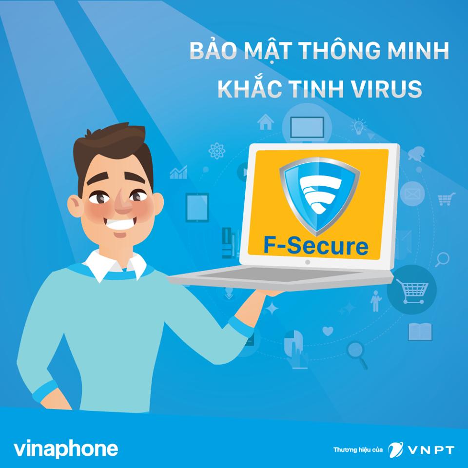 Cùng dịch vụ F-Secure Vinaphone bảo vệ an toàn thông tin khách hàng
