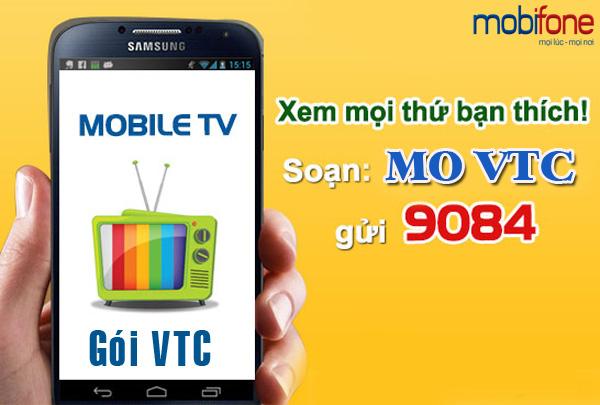 Xem tivi tốc độ 4G miễn phí khi đăng ký gói truyền hình VTC Mobifone