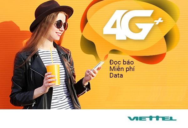 Cách cài đặt ứng dụng 4G Plus Viettel - Đọc  báo thoải mái