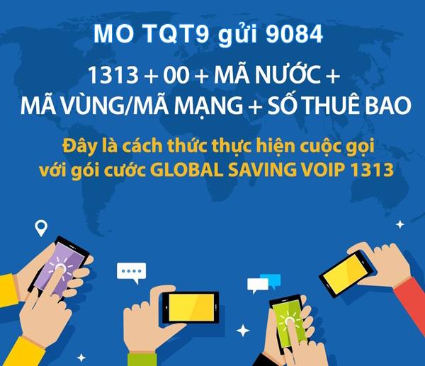 Đăng ký gói TQT9 Mobifone gọi quốc tế chỉ 9k cho 10 phút gọi miễn phí