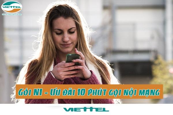 Hướng dẫn cách đăng ký gói cước N1 Viettel chỉ với 1.000đ