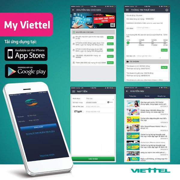 Cách tra cứu khuyến mãi nhanh cho sim Dcom trên My Viettel