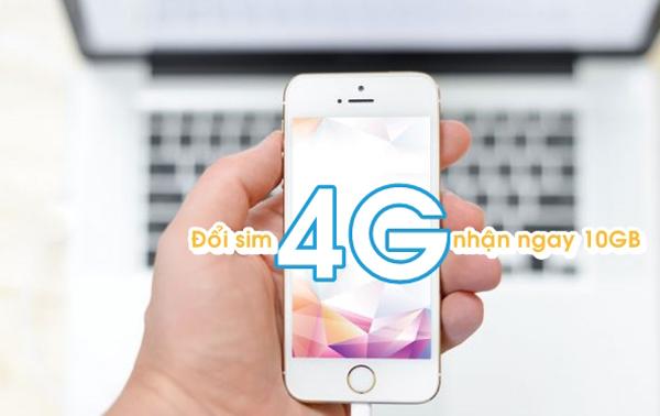 Tham gia đổi sim 4G Viettel tặng 10GB miễn phí